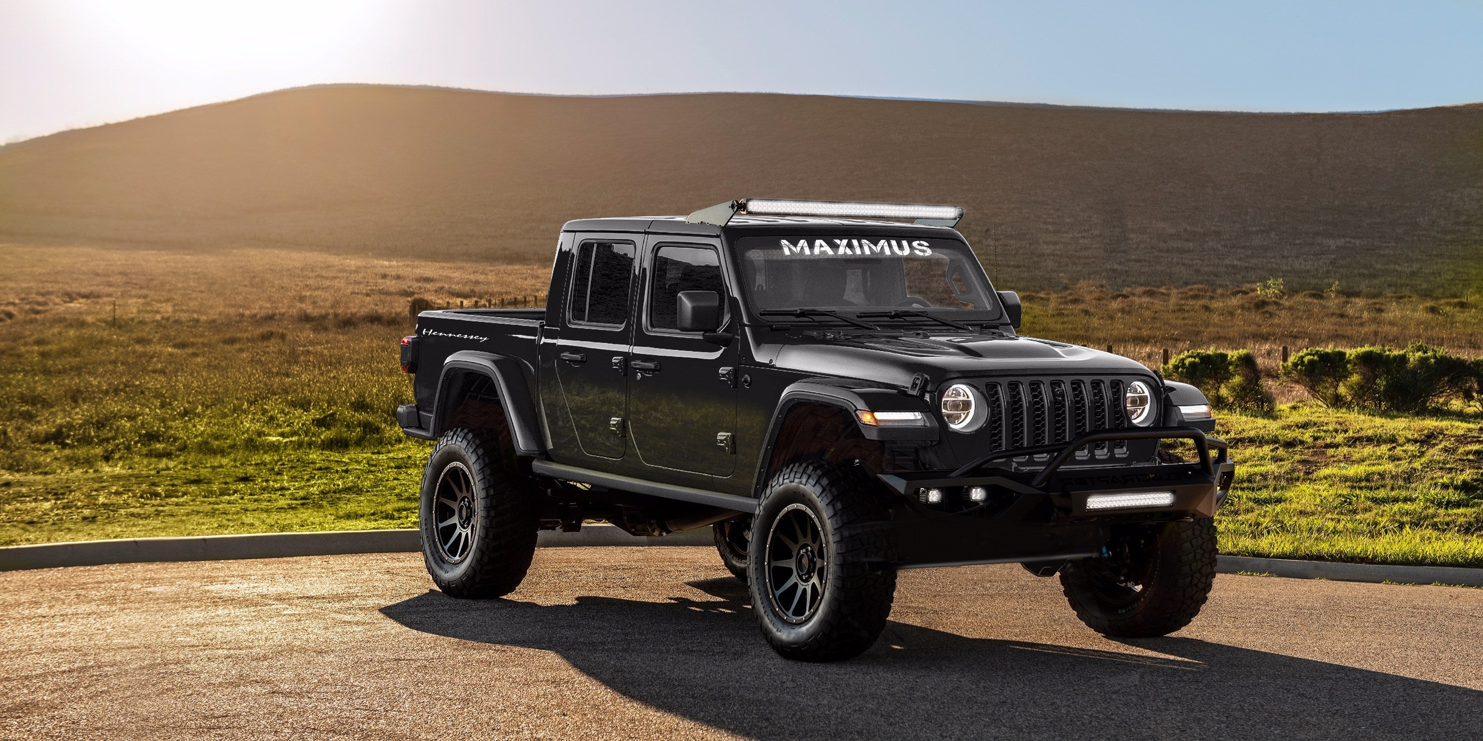 Jeep Gladiator Hellcat-Powered