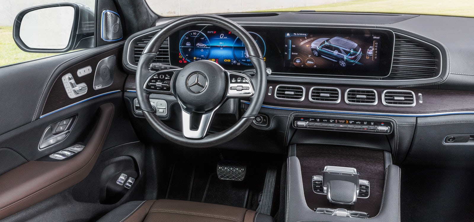 the new gle interior