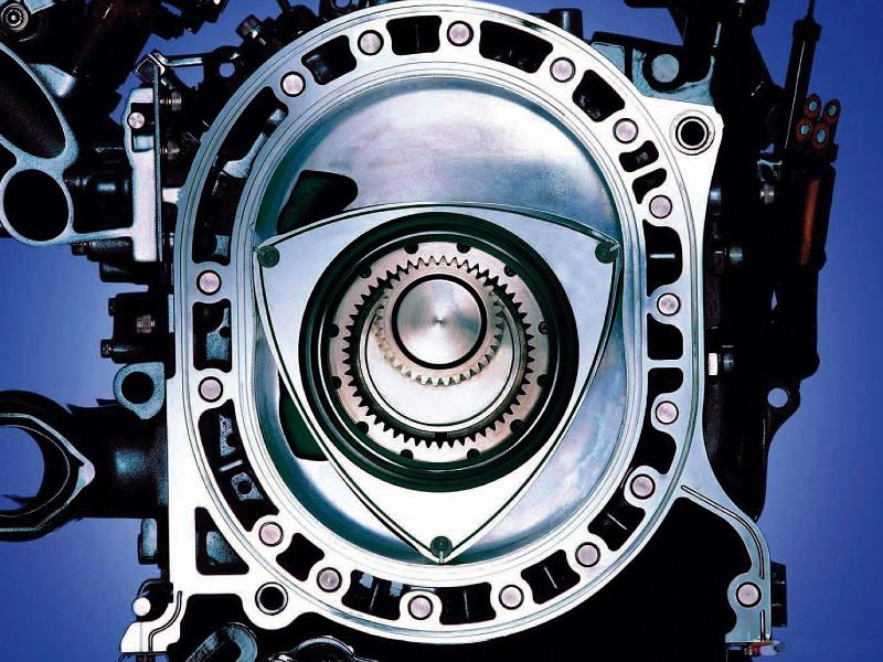 Mazda RX-7 rotary engine