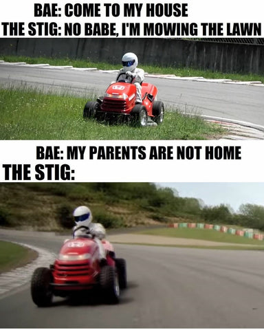 The Stig Meme