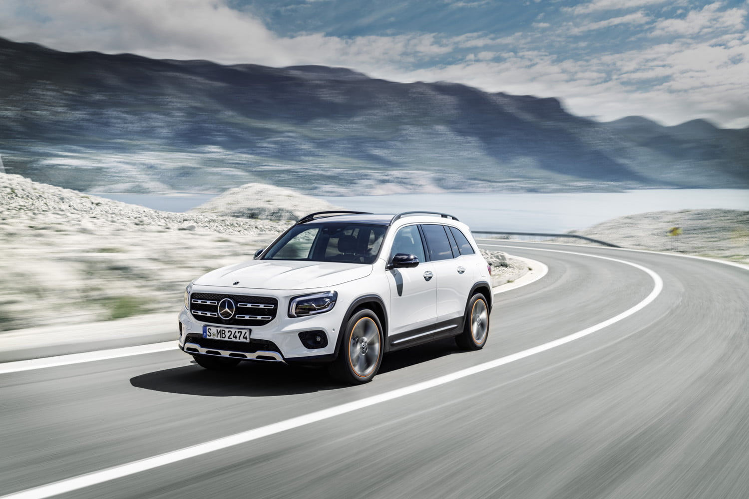 The 2020 Mercedes-Benz GLB