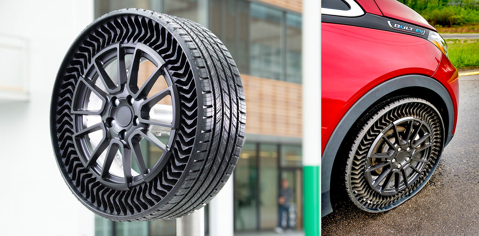 No more flats: Michelin and GM to bring airless tires to passenger cars by 2024
