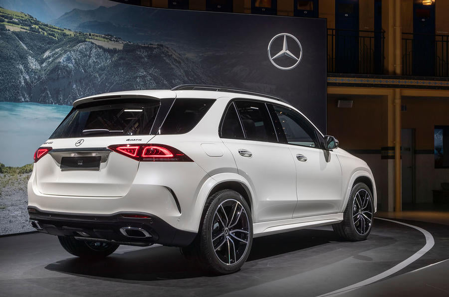 Mercedes GLE rear