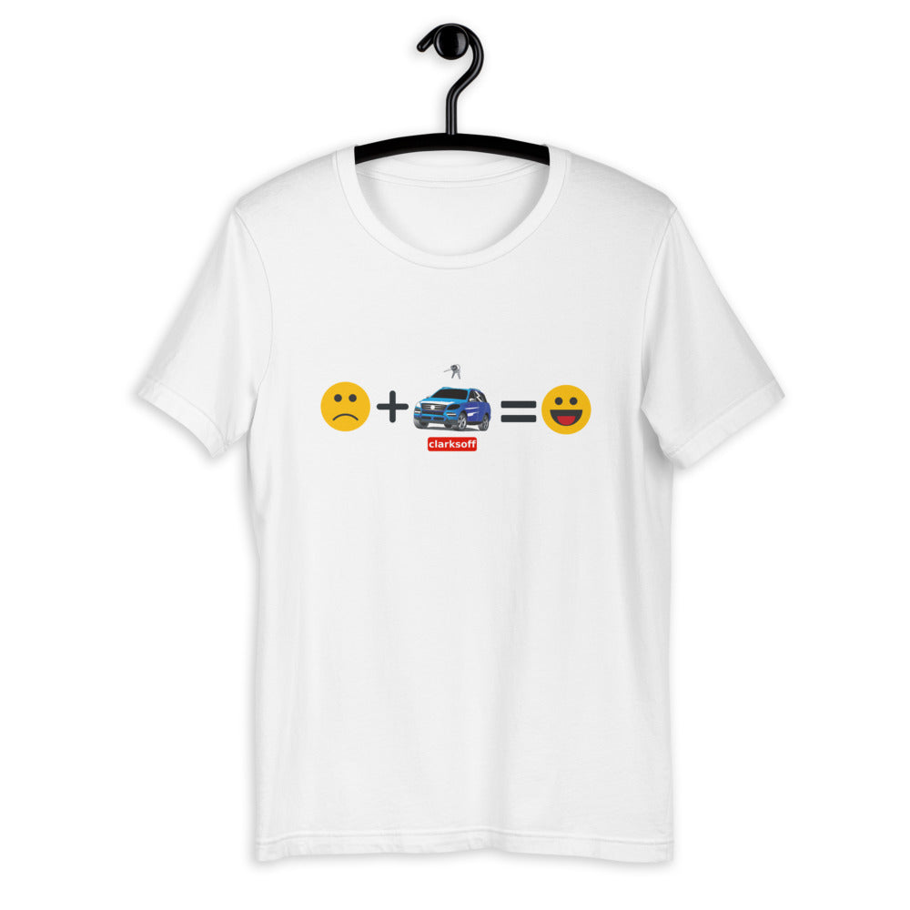 Car Makes Me Happy T-Shirt