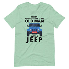 Load image into Gallery viewer, Old Man With A Jeep Car T-Shirt
