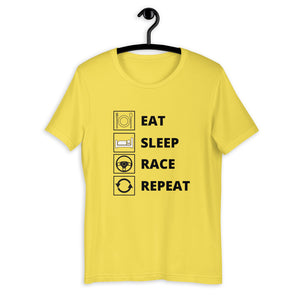 Eat Sleep Race Repeat T-Shirt