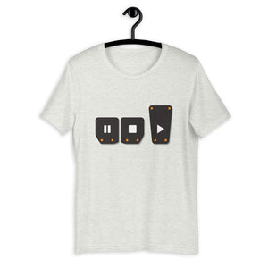 Play Stop Pause Pedals T-Shirt