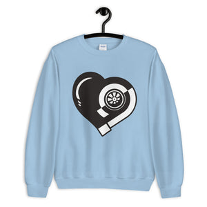 Turbo Heart Sweatshirt