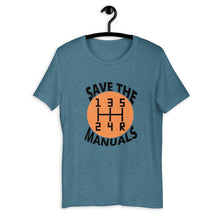 Load image into Gallery viewer, Save The Manuals T-Shirt