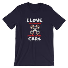 Load image into Gallery viewer, I Love Cars T-Shirt