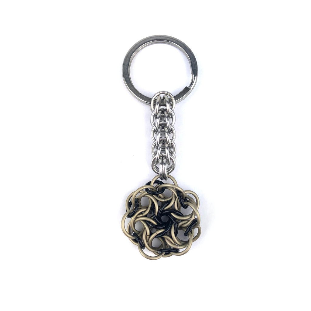Moorish Rose Keychain