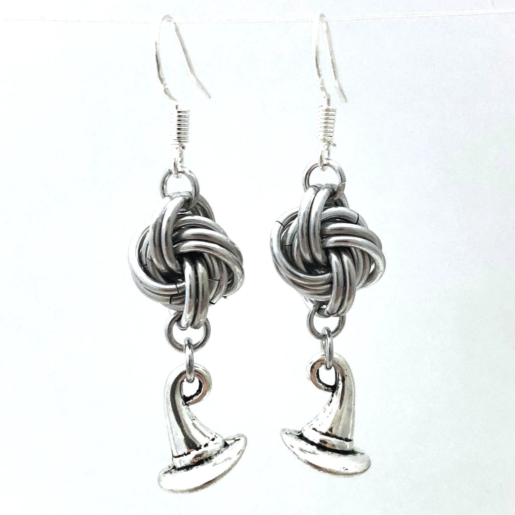 Mobius Charm Earrings