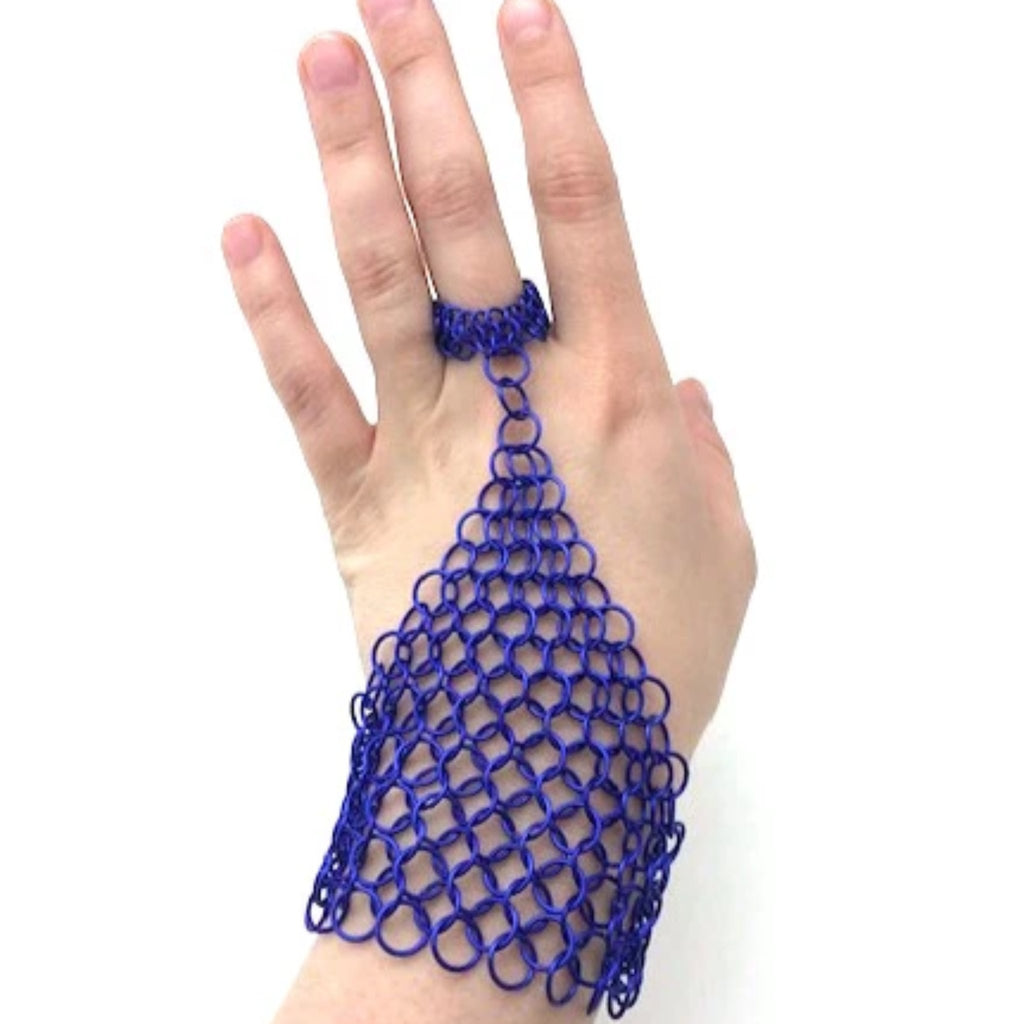 Chainmaille Hand Lace