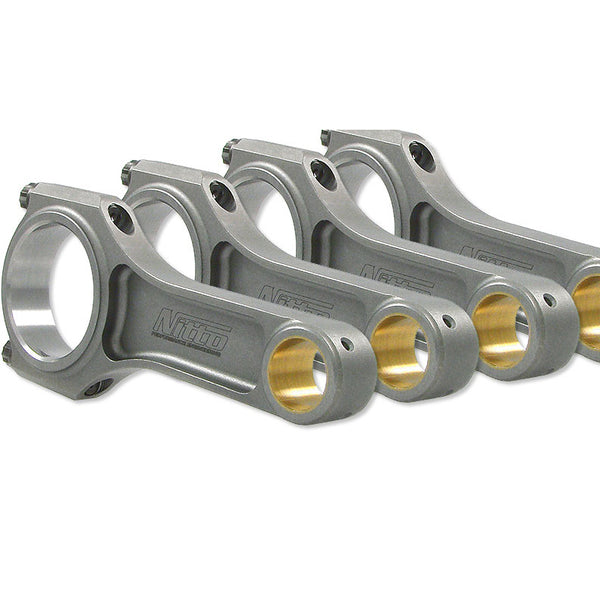 Nitto RB30 4340 Billet I-Beam (22MM PIN) 152.4MM Connecting Rods