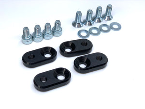 US License Plates to JDM Adapter Bracket Billet