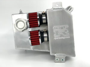 RIPS Racing R32 Catch Can with Radiator Overflow