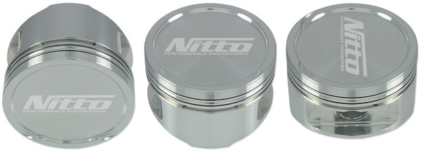 NITTO / JE Forged 2816 Pistons RB25 RB26 RB30