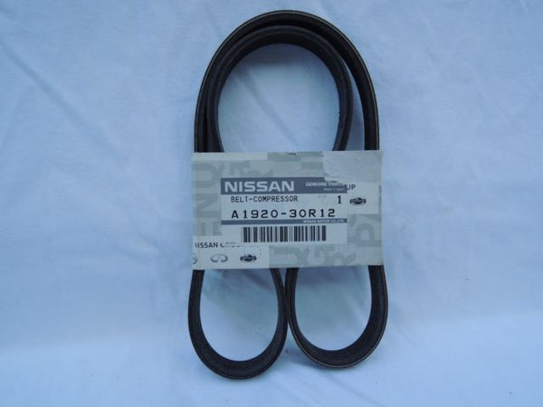 Genuine OEM Nissan Skyline R32 GTR RB26dett Alternator Belt A1920-30R12