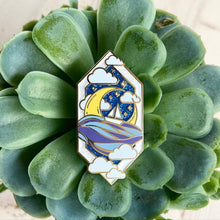 Load image into Gallery viewer, Sun & Moon Enamel Pins