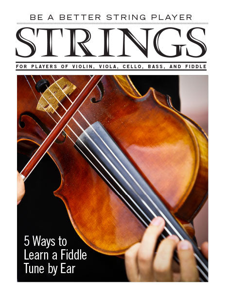 Be a Better String Player – 5 Ways to Learn a Fiddle Tune by Ear