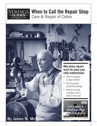 Care and Repair of Cellos: When to Call the Repair Shop