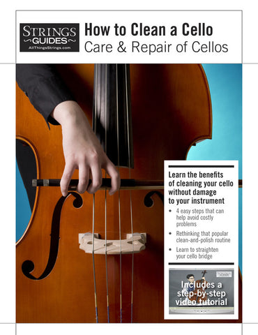 Care and Repair of Cellos: How to Clean a Cello