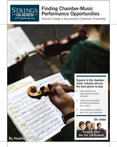 Creating a Successful Chamber Ensemble: Finding Chamber-Music Performance Opportunities