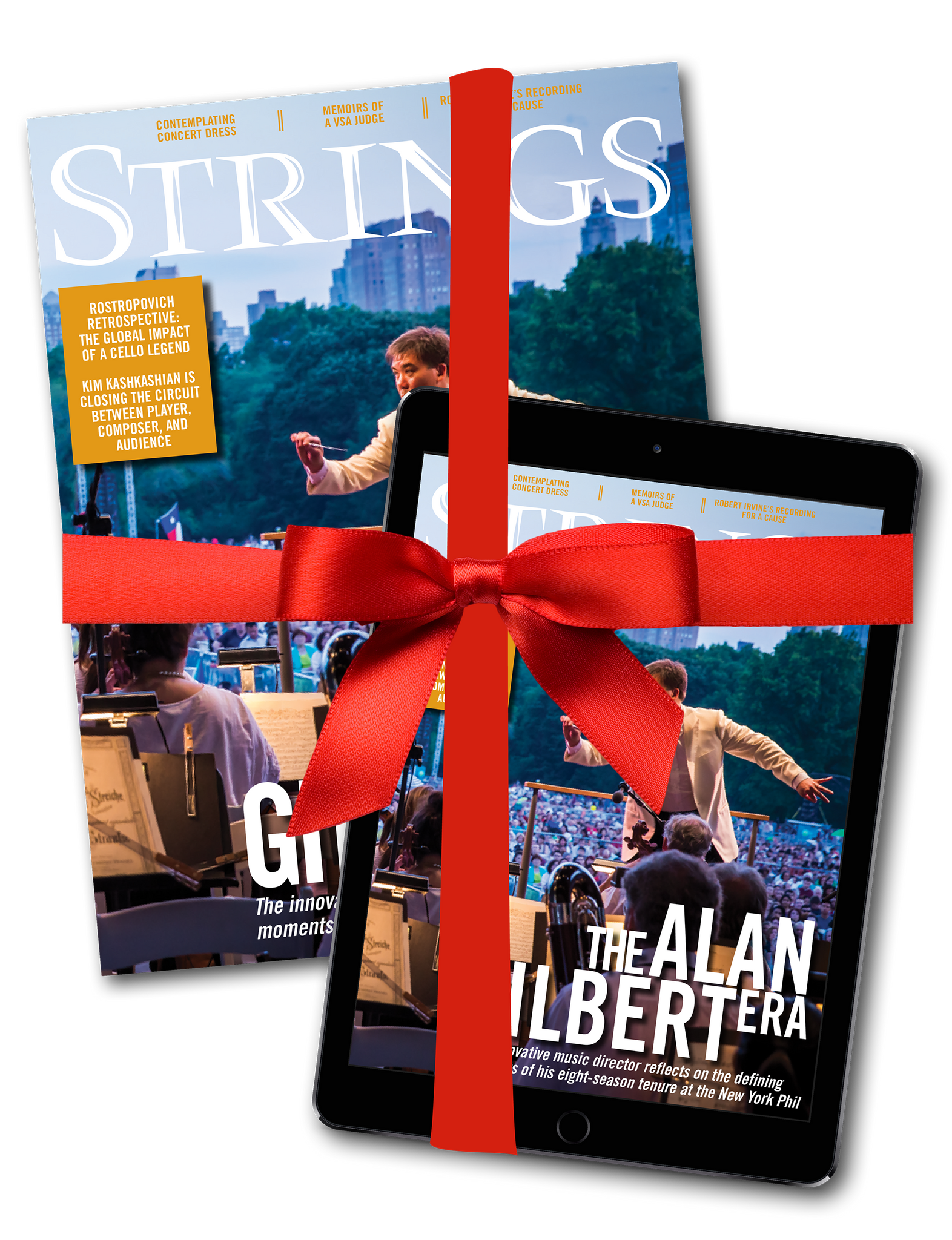 3 Year Subscription to Strings Magazine