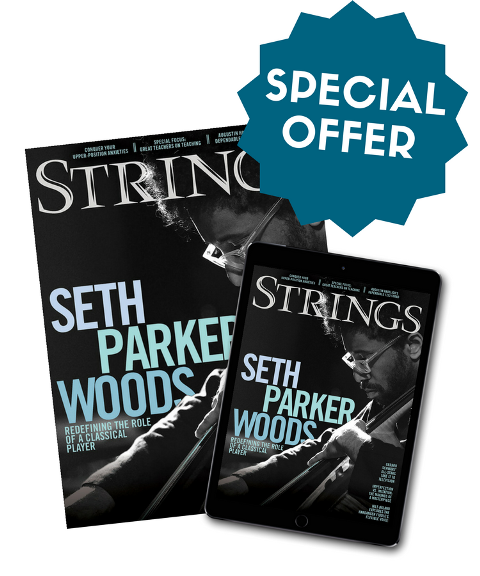 Annual Subscription to Strings Magazine - $15 Special