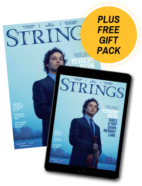 Strings Magazine Subscription + Free Gift Pack