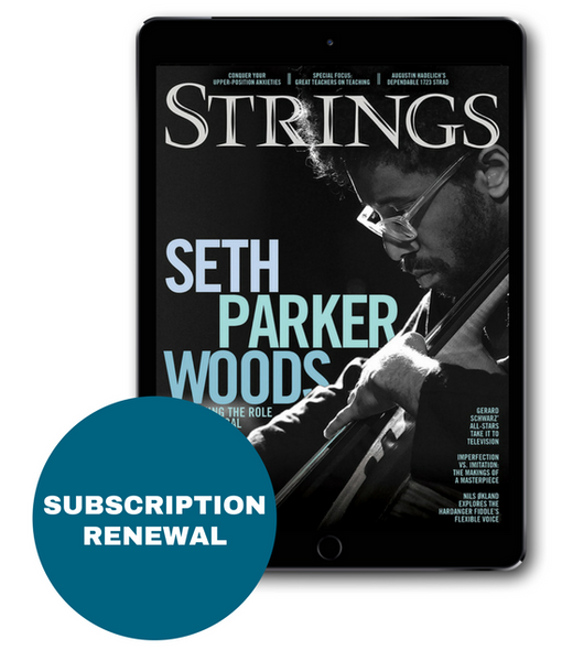 Strings Magazine Digital Subscription Renewal