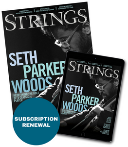 Strings Magazine $20 Subscription Renewal