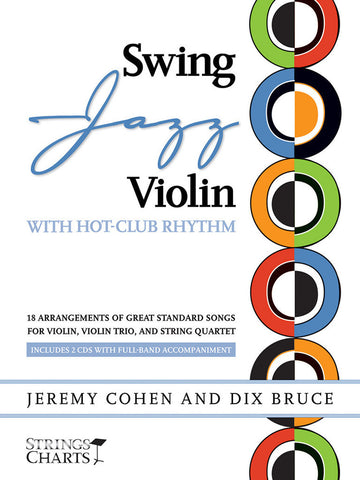 Swing-Jazz Violin with Hot-Club Rhythm - Complete Audio Tracks