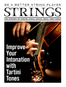 Be a Better String Player – Improve Your Intonation with Tartini Tones