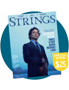 Strings Magazine Subscription $25 Offer