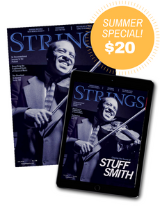 Strings Magazine Summer Subscription Sale