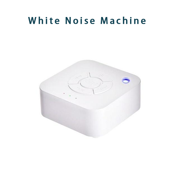 White Noise Machine USB Rechargeable Timed Shutdown Sleep Sound Machine For Sleeping Relaxation