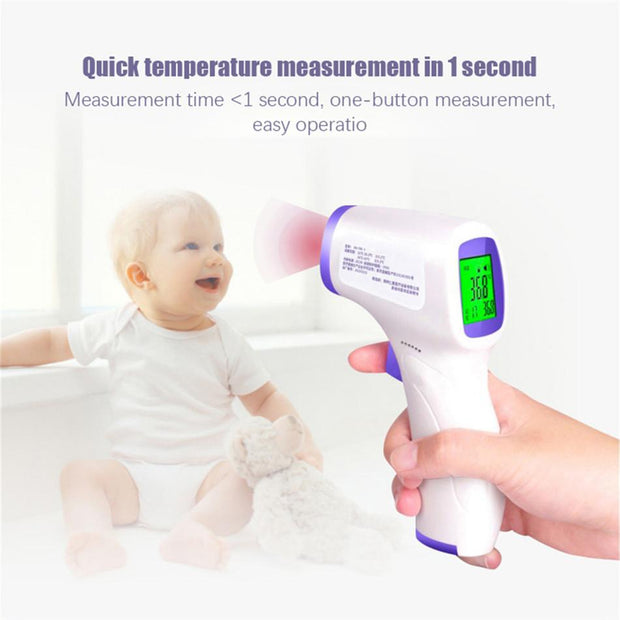 Non-Contact LCD Digital IR Infrared Forehead Thermometer