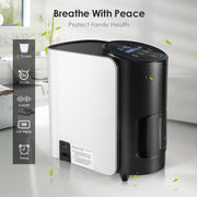 Oxygen Concentrator for Home 1-7L/min Adjustable 101W