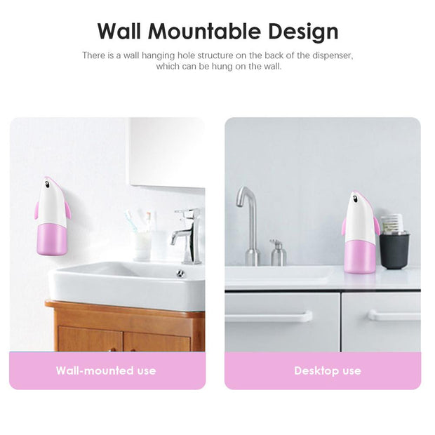 300ML Infrared Motion Sensor Hand Free Soap Dispenser