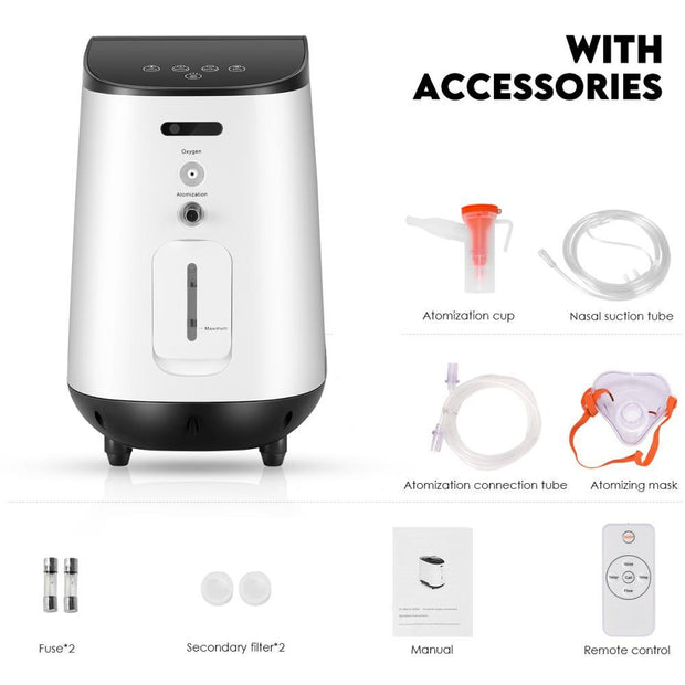 YW Series Oxygen Concentrator Accessories