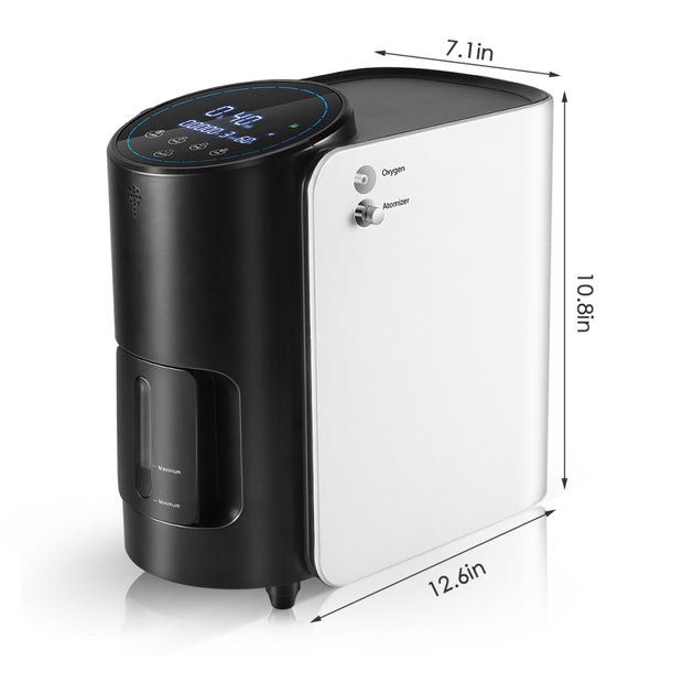 1-7L/min Adjustable Oxygen Concentrator for Home 101W