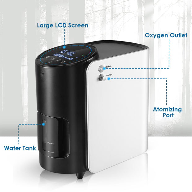 TTLIFE Oxygen Concentrator for Home Use 101w