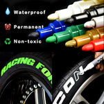 50% OFF Limited Sale--Waterproof,non-toxic,permanent Tire Paint Pen