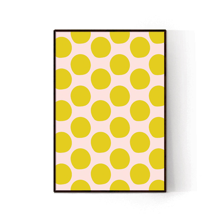 YELLOW DOTS - הדפס נקודות ענק בצהוב Small poster