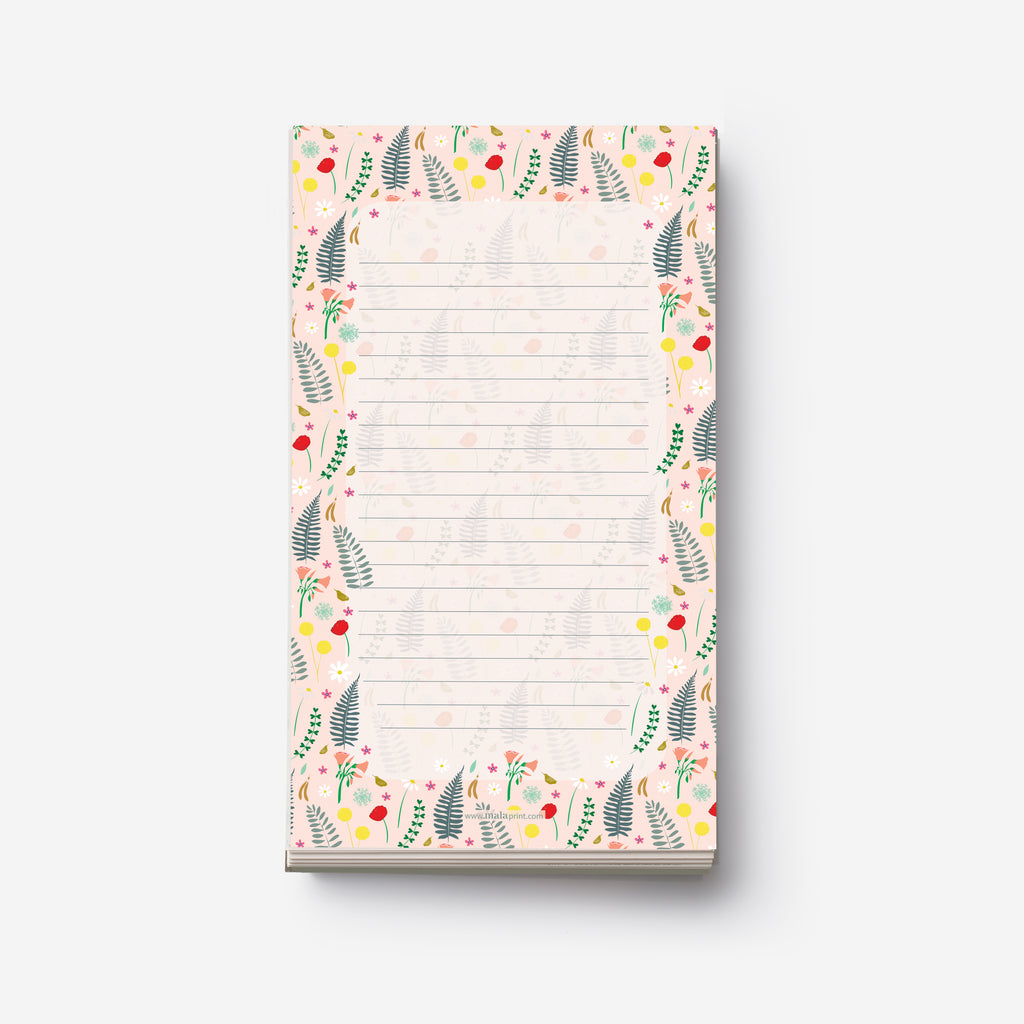 FIELD FLOWERS - פנקס יער Medium notepad