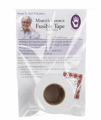 Batting Tape Fusible Non Woven 2in x 30yds - The Modern Quilting Company