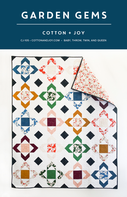 Garden Gems by Cotton + Joy - The Modern Quilting Company