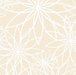 Cream Star Flower 108in Wide Back - The Modern Quilting Company