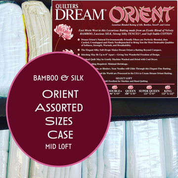 Dream Orient Bamboo & Silk Assorted Sizes Case